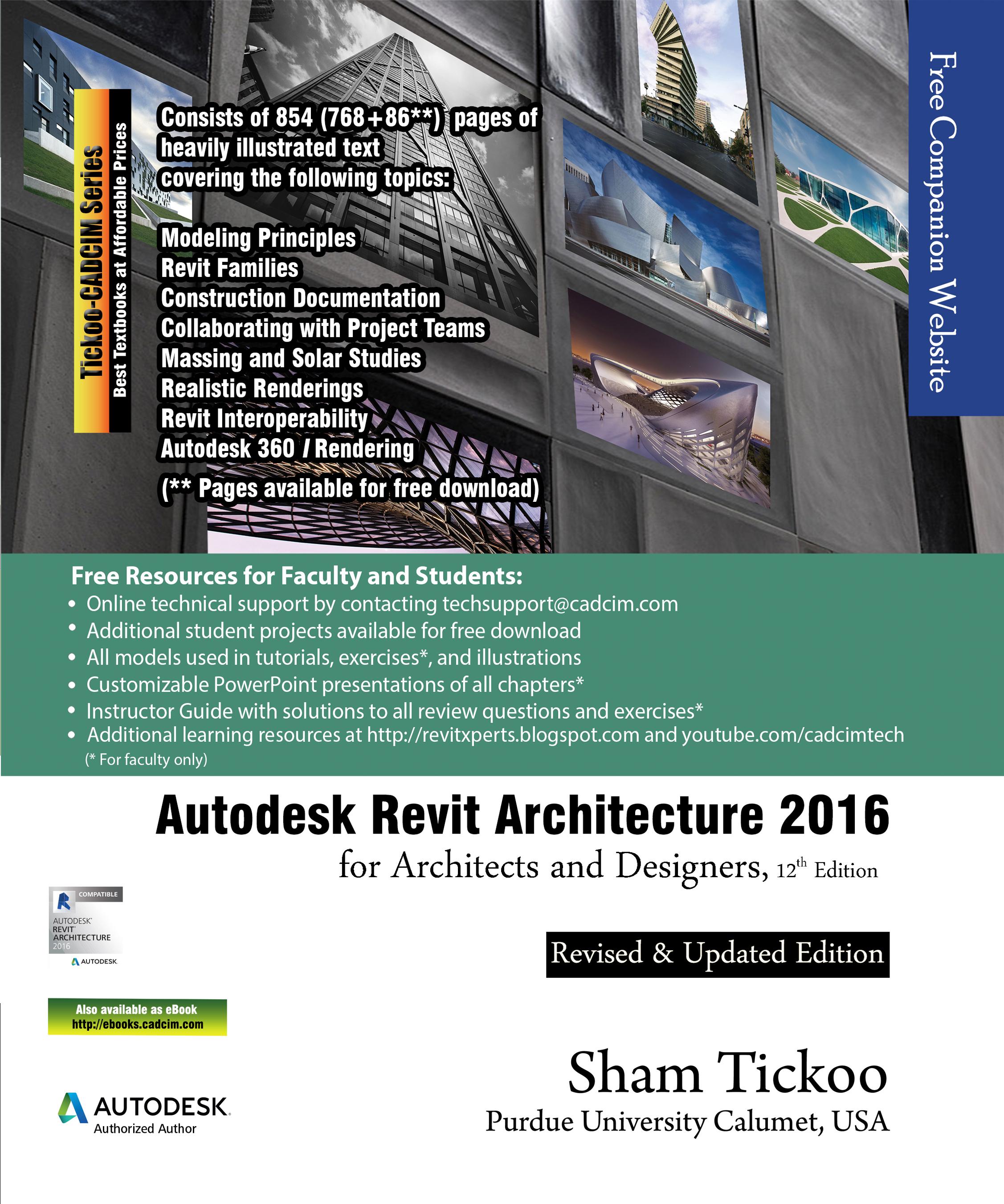 Architecture pdf tutorials revit 2015