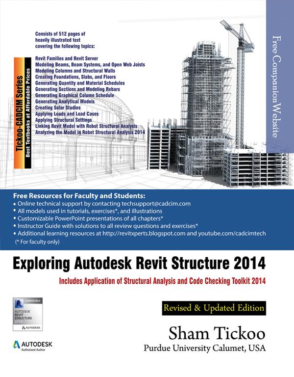 exploring autodesk revit structure 2014 rh cadcimtech com revit manual 2014 manuel revit 2014 pdf