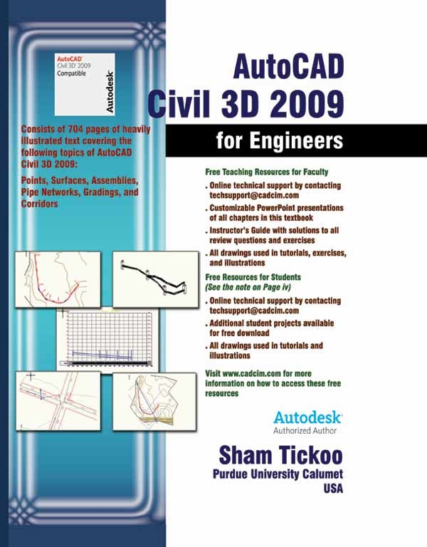 AutoCAD Civil 3D for Engineers