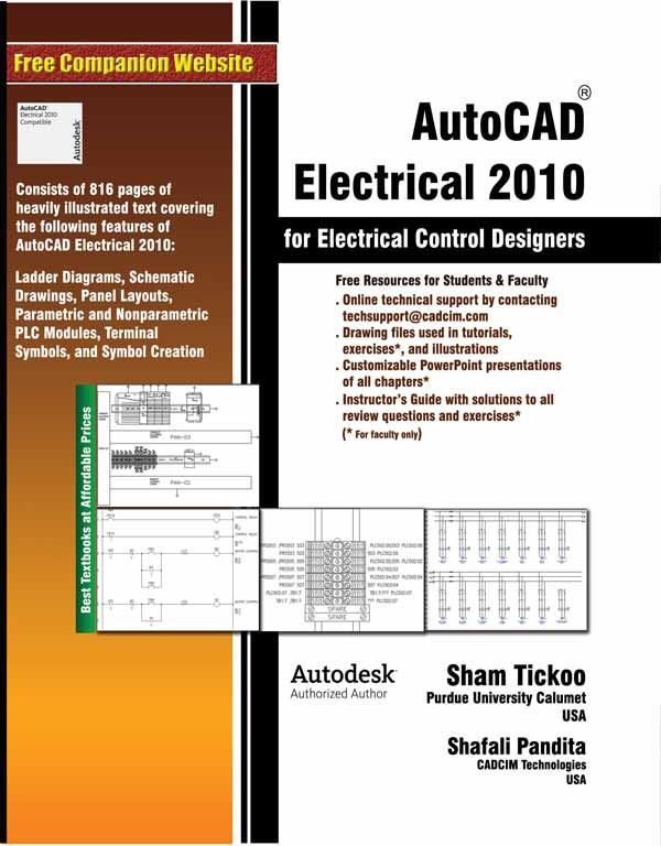 autocad electrical 2010 for electrical control designers rh cadcimtech com AutoCAD 2014 User Manual autocad 2010 training manual