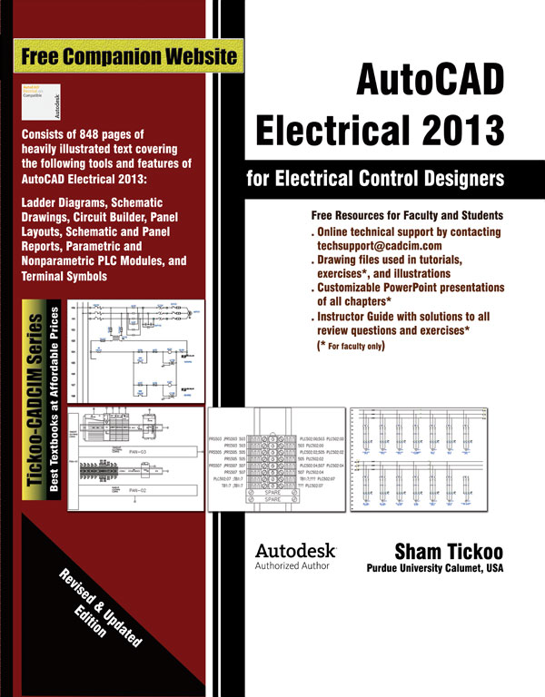 autocad electrical 2011 for electrical control designers rh cadcimtech com Electrical CAD AutoCAD Electrical Circuit Design