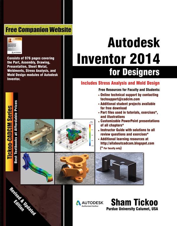 autodesk inventor for designers rh cadcimtech com autodesk inventor 2014 tutorial book autodesk inventor 2014 manual pdf download
