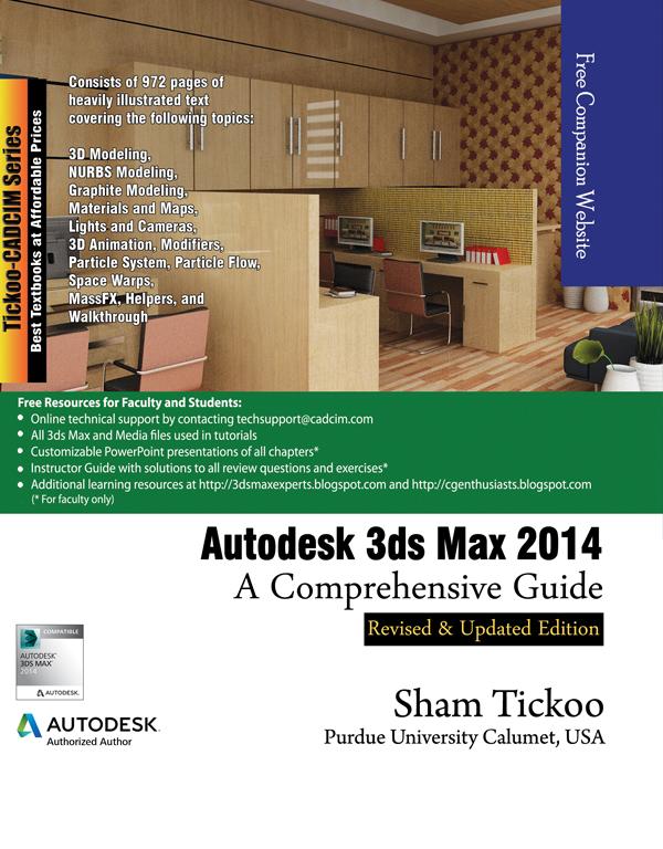 autodesk 3ds max 2014 a comprehensive guide rh cadcimtech com manual 3ds max 2013 español pdf manual 3ds max 2013 español pdf